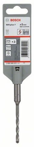 Бур BOSCH SDS-plus-7, 6x150мм