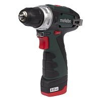 Шуруповерт аккум METABO PowerMaxx BS, 2x2Ач, 10.8 В пластмасс кофр